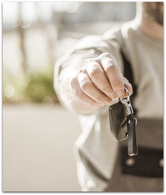 Stock Photo Car Keys
