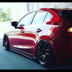6 (ATENZA) 2012-UP - Complete Kit - AirForce - AirForce Suspension MAZDA W/ Air Lift Controls: 6 (ATENZA) 2012-UP