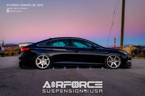 LF SONATA 2014-UP - Complete Kit - AirForce - AirForce Suspension HYUNDAI W/ Air Lift Controls: LF SONATA 2014-UP