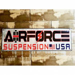AIRFORCE SUSPENSION SWAG - AirForce - AIRFORCE SUSPENSION USA BANNER